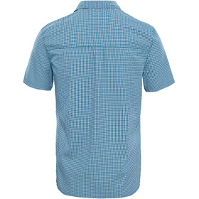 The North Face Hypress SS Shirt Herren blue coral plaid